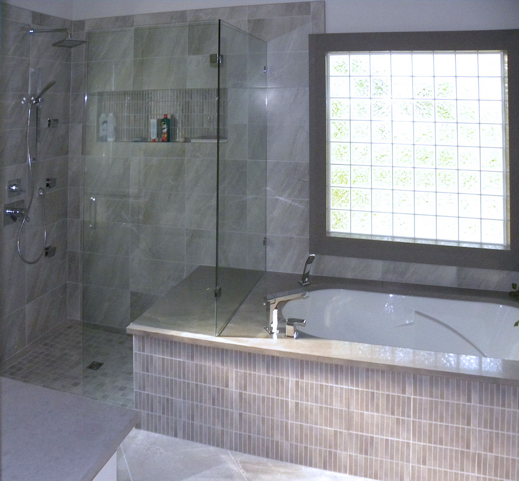 Bathroom Tub And Shower Tile Ideas: House Renovation