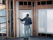 Walls - How to blow insulation into exterior walls ...
