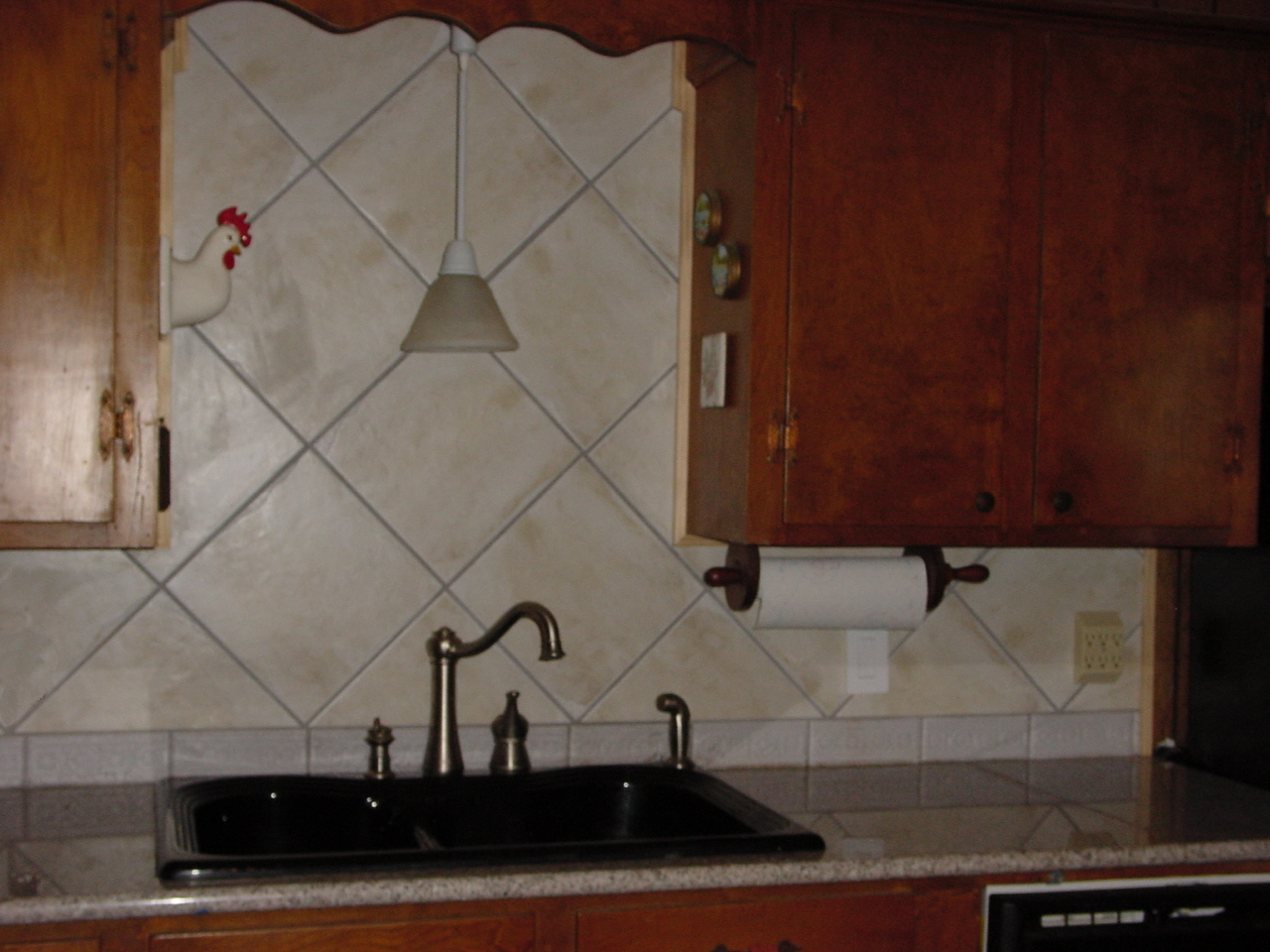 Awesome Large Tile Kitchen Backsplash Gallery Home