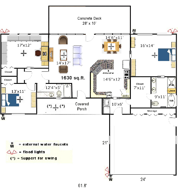 free home plans small business floor plans